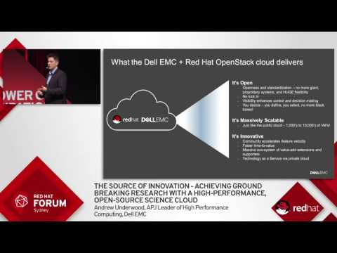 Highlights from Red Hat Forum Sydney 2016: Andrew Underwood