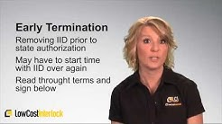 Low Cost Interlock - Ignition Interlock Device Installation