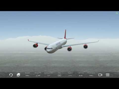 Infinite flight A340 Virgin Atlantic *Online KVCV-KNUC* FULL FLIGHT