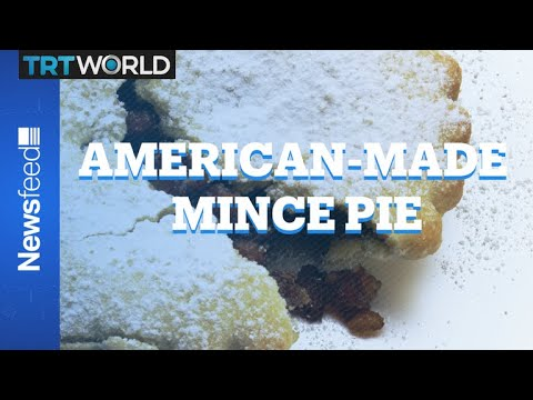 American-made mince pie