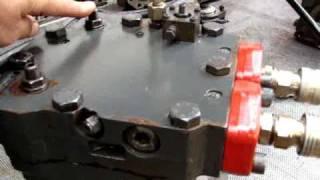essais moteur hydraulique linde HMV135