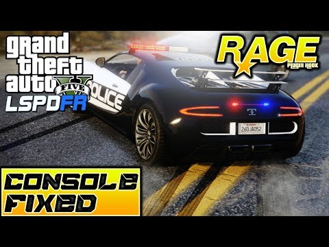 GTA V - RAGE-PLUGIN-HOOK CONSOLE NOT OPENING FIXED!!! CAN'T GO ON DUTY LSPDFR FIXED!!!