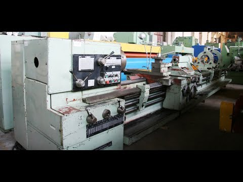TOS SUS 80 Center Lathe