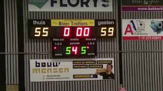 19 january 2019 Rivertrotters MSE2 vs MSV MSE1 75-88 3rd period