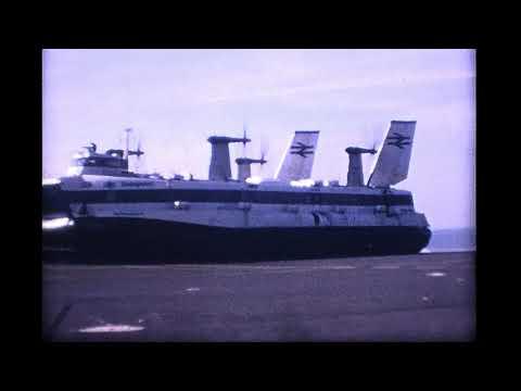 SeaSpeed HoverCraft operated by British Rail 1969