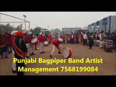 Bagpiper Band Artist Management Booking in Indore 7568199084