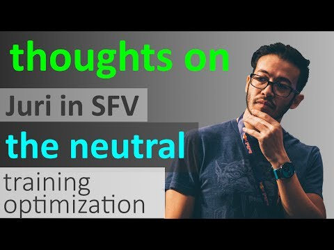 SFV - Gootecks talks about Juri's Gameplan, the Neutral Game, Antiairs and Training Optimization