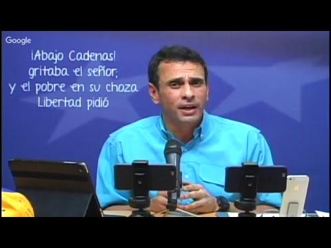 24-10-2017 Pregunta Capriles