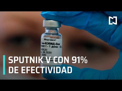 Vacuna rusa Sputnik V supera el 91% de eficacia contra COVID-19 - Despierta