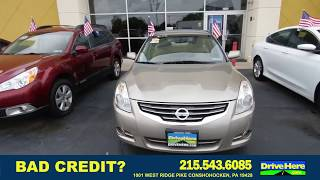 2012 NISSAN ALTIMA, 100% Application Review Policy