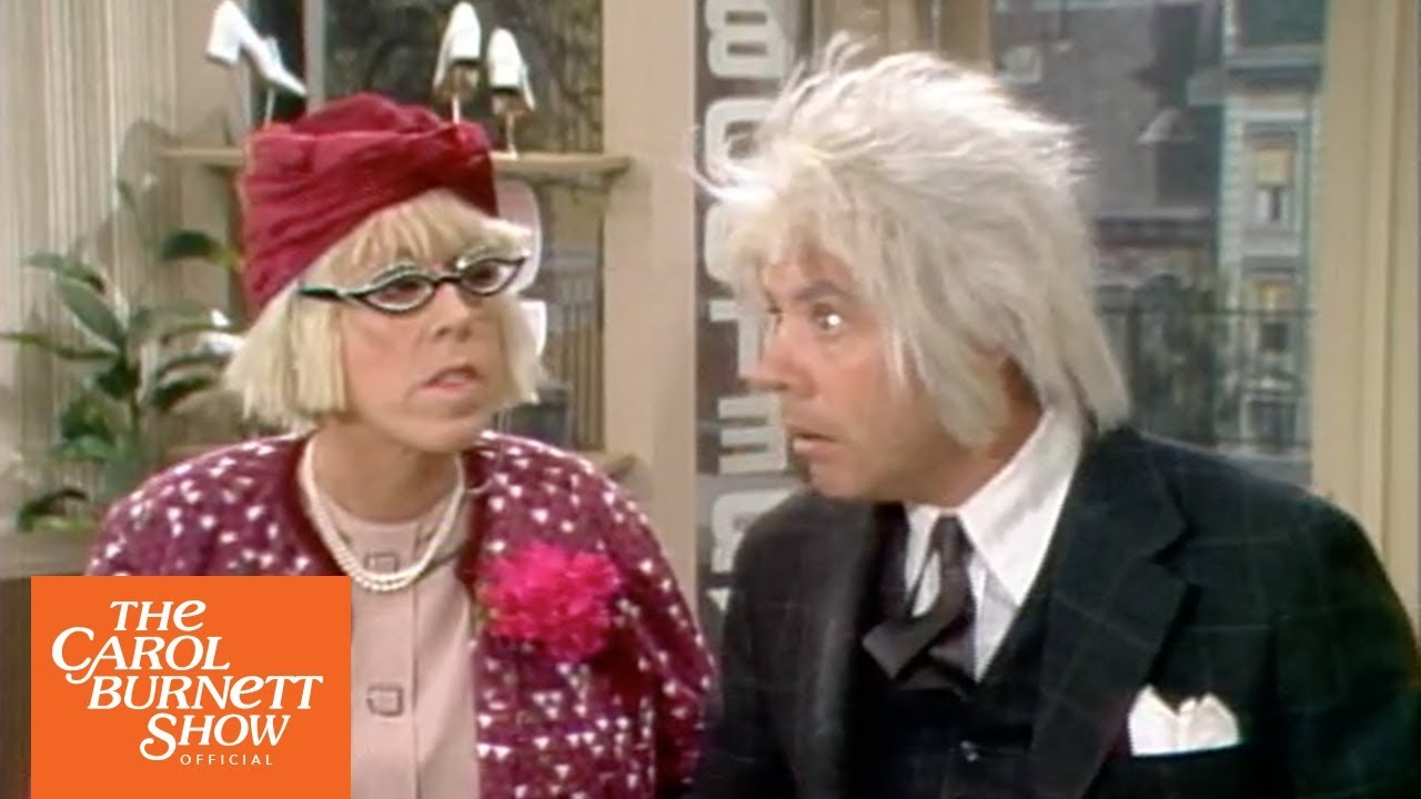 Stella Toddler & The Oldest Man: The Shoe Store from The Carol Burnett Show (full sketch)