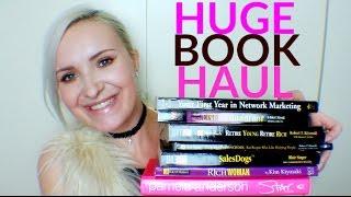 HUGE Book Haul! | Success, Money, Leadership, Networking | September 2016