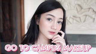 Fresh & Easy Go to Campus Makeup - MAYBELLINE ONE BRAND TUTORIAL