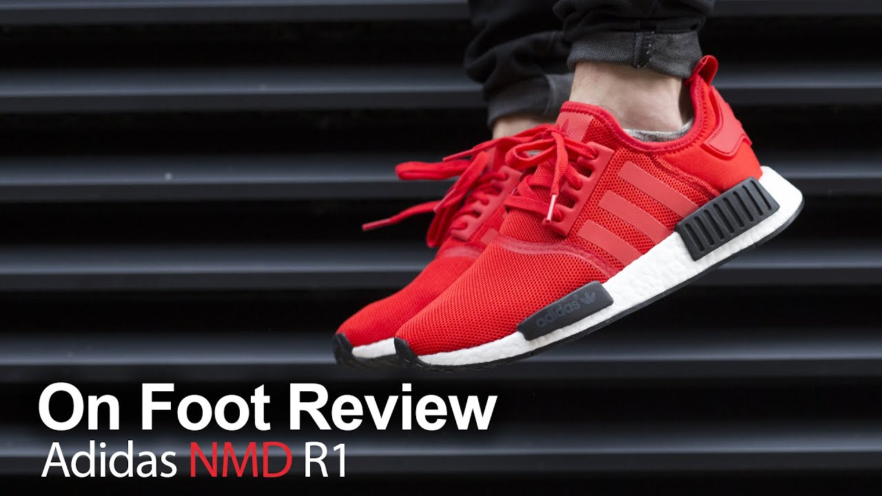 On Foot Review   Adidas NMD R1 Red/Red