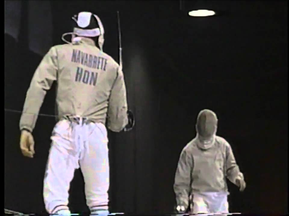 Fencing : 1996 Olympics Sabre Men Bronze Medal Match ...