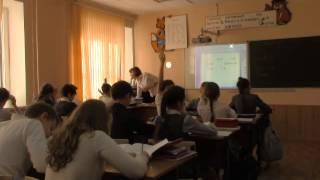 Зайцева И.В. Фрагмент видеоурока по математике в 4-м классе.