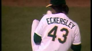 Dennis Eckersley - Baseball Hall of Fame Biographies