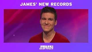James Holzhauer: 10 Wins and New Jeopardy! Records | JEOPARDY!