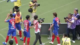2019/5/18 J1リーグ 第12節 味の素スタジアム FC東京 2-0 札幌 59分、久...