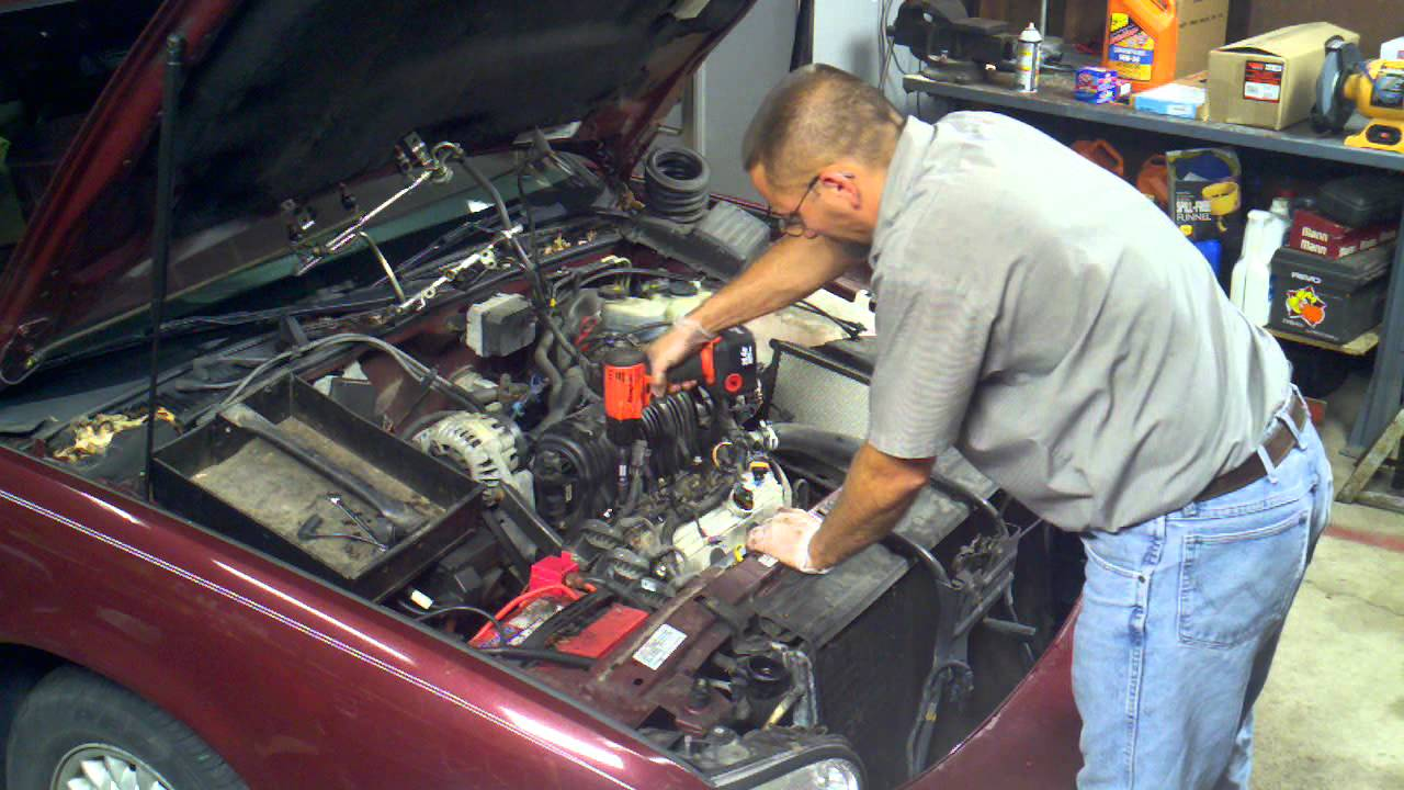 GM 38 Intake Manifold replacement Removal the fast way