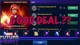 ANOTHER WAY TO TRAIN YOUR CREDIT CARD 👉 RACHEL SUMMERS SPECIAL TRAINING | Marvel Future Fight