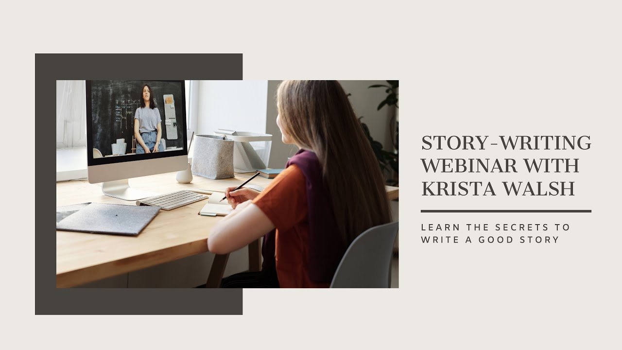 Write-Minded Webinar with Krista Walsh