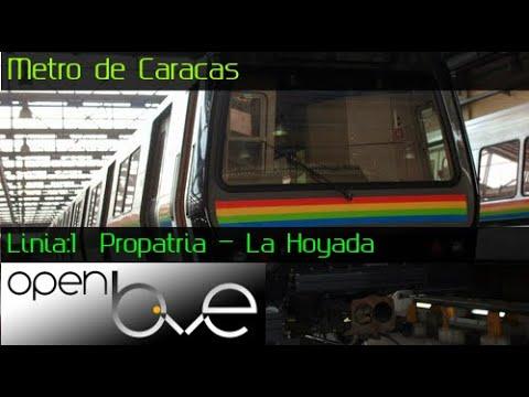 OpenBVE: Metro De Caracas- Linea:1  Propatria - La Hoyada