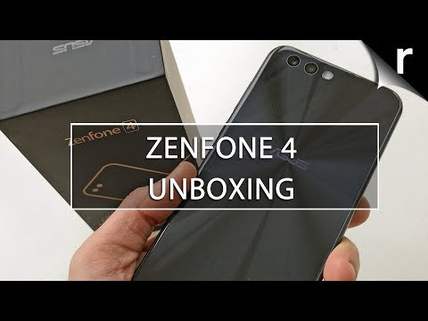 Asus ZenFone 4 Unboxing, Setup & Hands-on Review (UK model)
