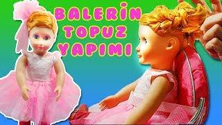 Oyuncak Bebeğim Aylin' e  Balerin Topuzu Yaptım - 2. Bölüm | Oyuncak Butiğim