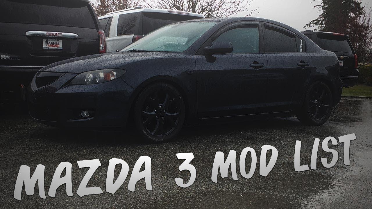 Mazda 3 Mods >> Mazda 3 Mod List Mazda 3 2007