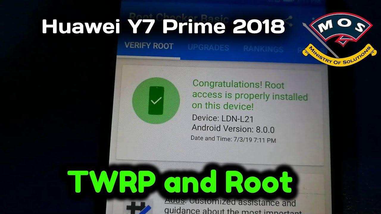 Huawei Y7 Prime (2018) Root Videos - Waoweo