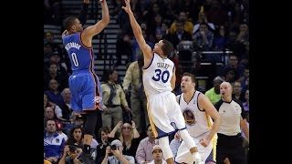 Russell Westbrook Top Plays on Stephen Curry
