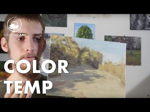Importance of Color Temperature | Warm & Cools In Painting & Art