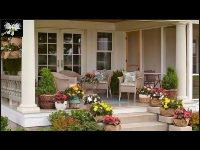 Mi Diario De Jardin La Entrada De La Casa O Porche Youtube