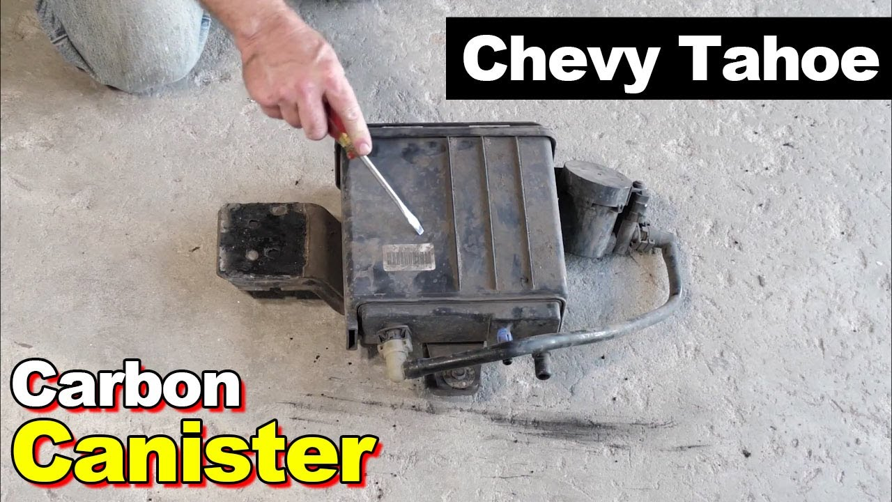 2005 Chevy Tahoe Fuel Filling Slowly From Clogged Charcoal Canister Vent  Lines