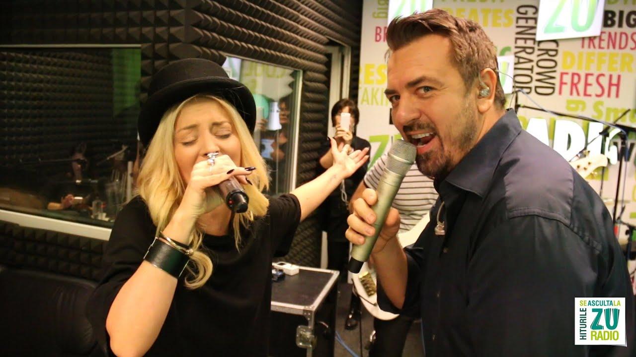 Horia Brenciu si Delia - Inima nu vrea - varianta culinara (Live la Radio ZU)
