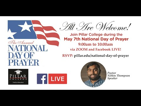Pillar College's National Day of Prayer May 7, 2020