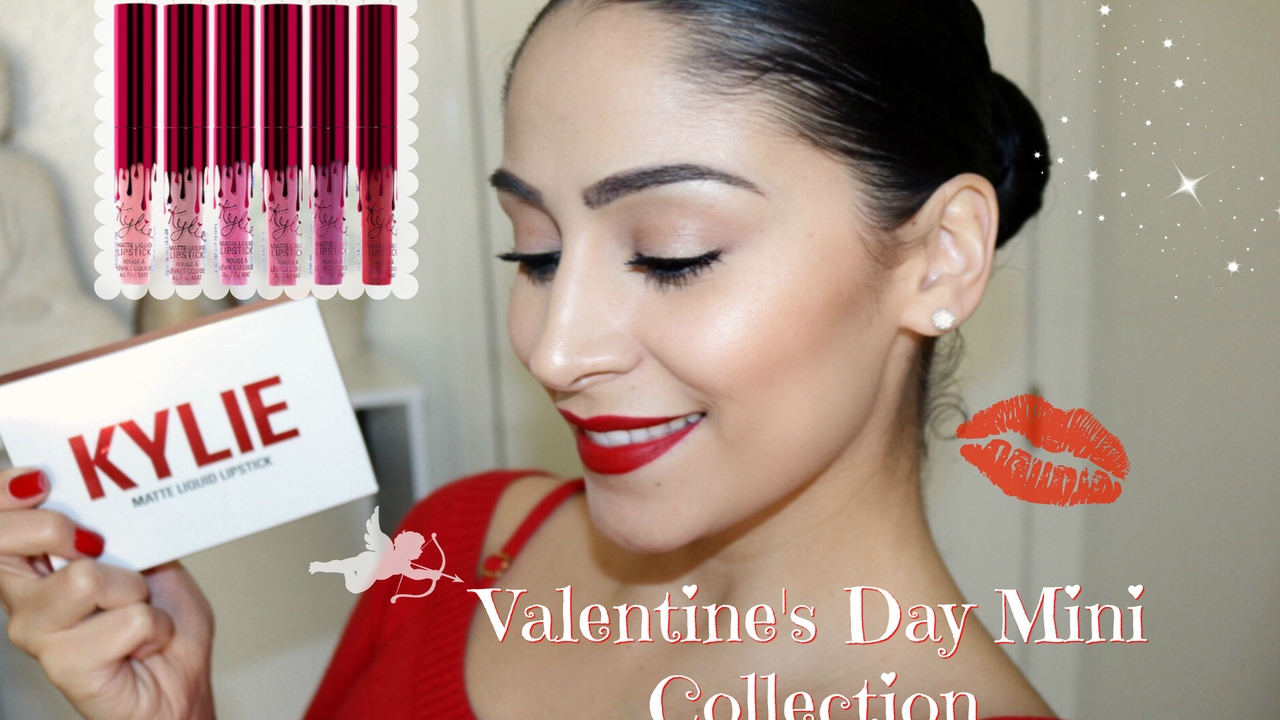 Kylie Cosmetics Valentines Day Collection Mini Lip Kit