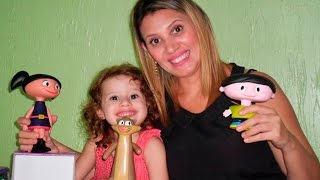 Review de brinquedos - O Show da Luna! Bonecos de Vinil Júpiter Cláudio Luna Brinquedos Estrela