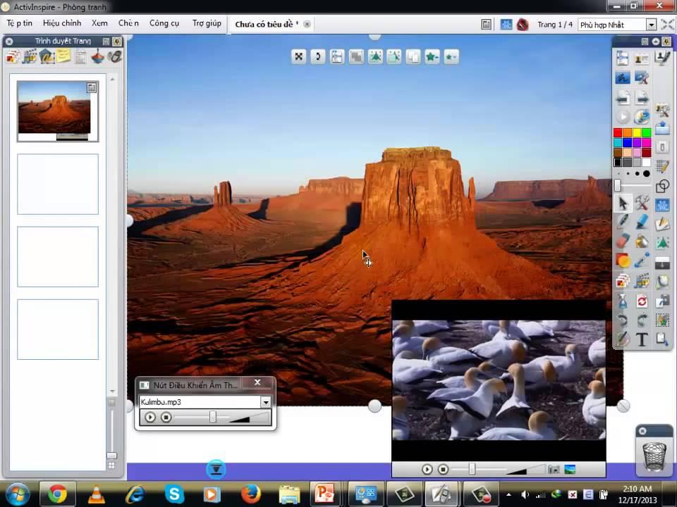 Hướng dẫn sử dụng phần mềm ActivInspire - Phần 3