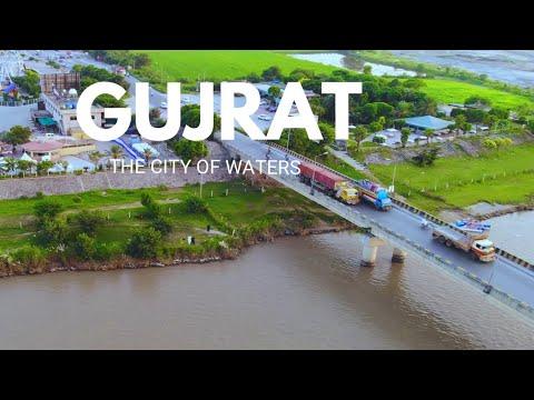 GUJRAT PUNJAB PAKISTAN .KINARA HOTEL GUJRAT DRONE 4K VIDEO