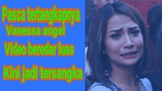 video vanessa angel beredar luas dan kini panesa jadi tersangka