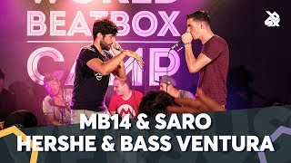 MB14 & SARO vs HERSHE & BASS VENTURA |  WBC TAG TEAM BATTLE | 1/4