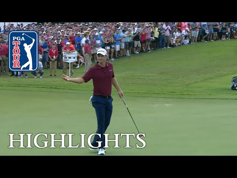 Justin Rose's highlights | Round 4 | TOUR Championship 2018