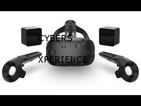 Cyber's Xperience HTC Vive |
