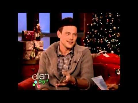 Cory Monteith on The Ellen Degeneres  061212