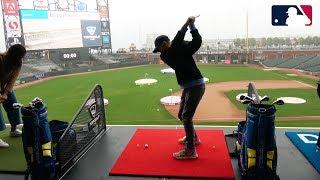 13 yr old Golfing in MLB Park!