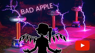 Challenge accepted: Touhou - Bad Apple on musical tesla coils! Please, subscribe to collaborate even more with new videos. For those who did not understand ...