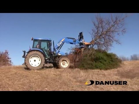 Danuser Intimidator on New Holland Tractor