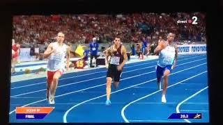 Finale 400m Berlin 2018)